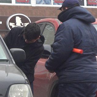 Пьяный водитель — соцэксперимент в Бишкеке