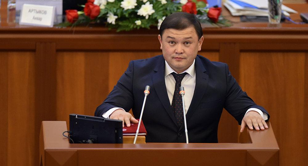 Депутат Дастанбек Джумабеков