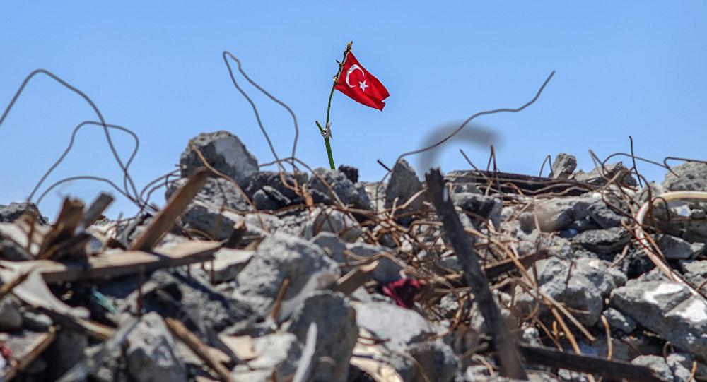 Түркия мамлекетинин желеги. Архив