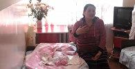 Бактылуу эне менен алты миллионунчу кыргызстандык. Төрөт үйүнөн кадрла