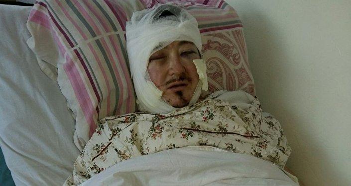 Теолог Кадыр Маликов, подвергшийся нападению, написал заявление в Октябрьское РУВД Бишкека