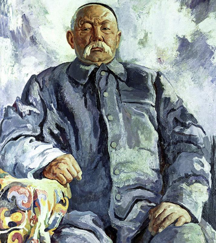 Манасчы Саякбай Каралаев