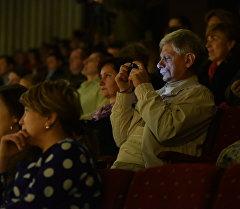 Зрители на концерте. Архивное фото