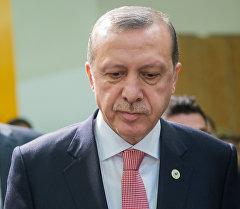 Түркия президенти Режеп Тайип Эрдоган. Архив