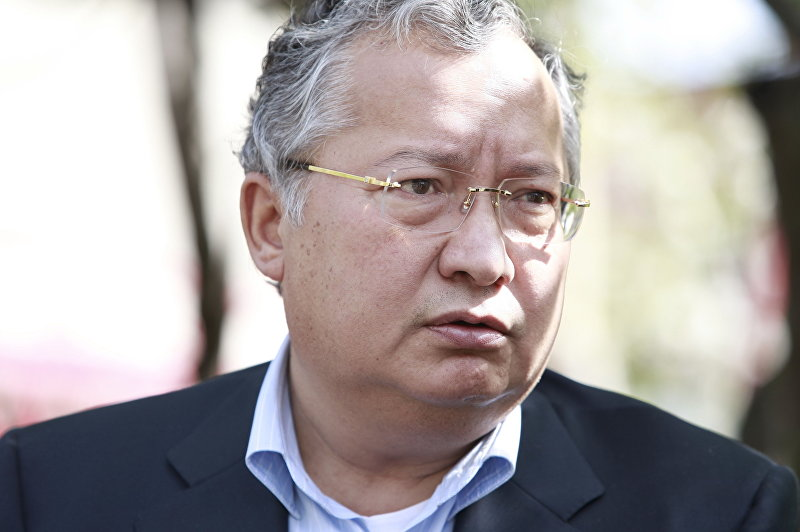 Брат президента Киргизии Курманбека Бакиева Джанибек Бакиев дал интервью