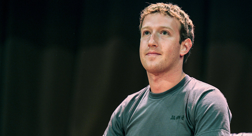 Создатель крупнейшей мировой социальной сети Facebook Марк Цукерберг. Архив