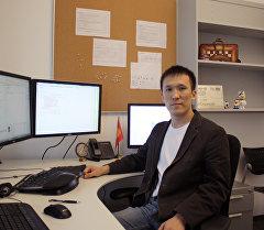 Дүйнөдөгү эң ири IT компанияларда иштеген кыргызстандык Акжол Абдухалиев. Архив