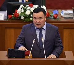 Депутат ЖК 6 созыва Болотбек Ибраимжанов. Архивное фото
