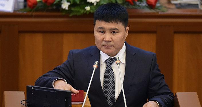 Депутат ЖК 6 созыва Тазабек Икрамов. Архивное фото