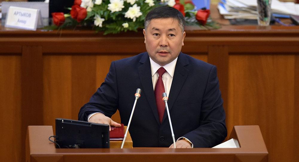 Депутат ЖК 6 созыва Канатбек Исаев от партии Кыргызстан. Архивное фото