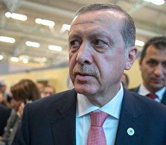 Түрк президенти Режеп Тайип Эрдоган. Архив