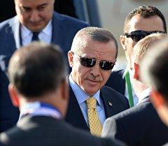Түркиянын президенти Реджеп Тайип Эрдоган. Архив