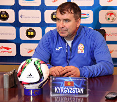 Главный тренер сборной Кыргызстана по футзалу Андрей Полховский. Архивное фото