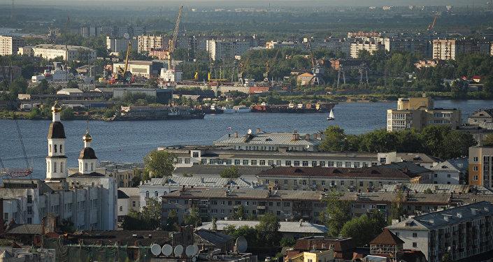 Вид на Архангельск. Архивное фото