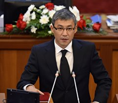 Депутат ЖК 6 созыва Урмат Ишенбеков от партии Кыргызстан. Архивное фото