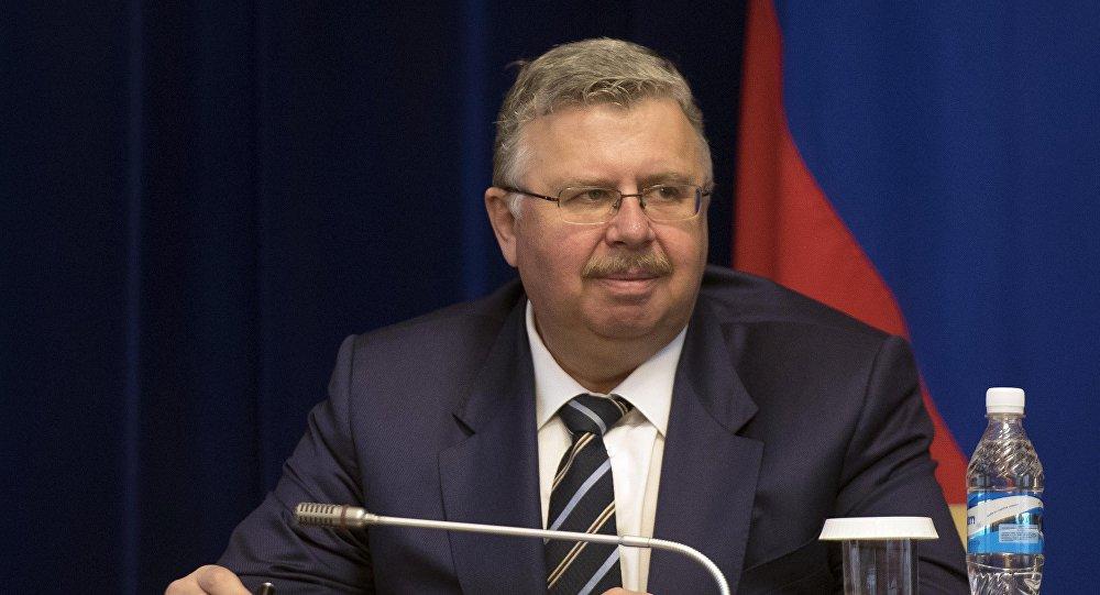 Председатель правления Евразийского банка развития (ЕАБР), генеральный секретарь Ассамблеи народов Евразии Андрей Бельянинов. Архивное фото