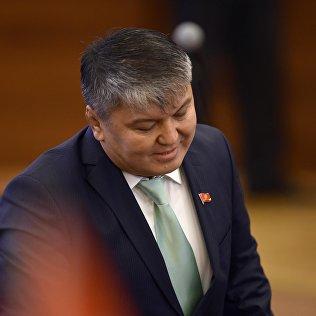 Депутат ЖК 6 созыва Арзыбек Кожошев. Архивное фото