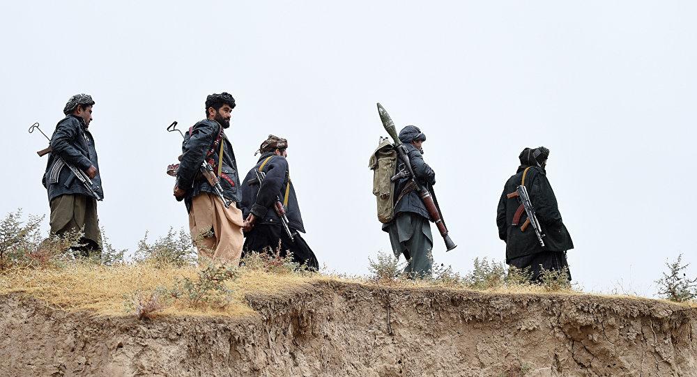 Талибан радикалдык кыймылынын мүчөлөрү. Архив