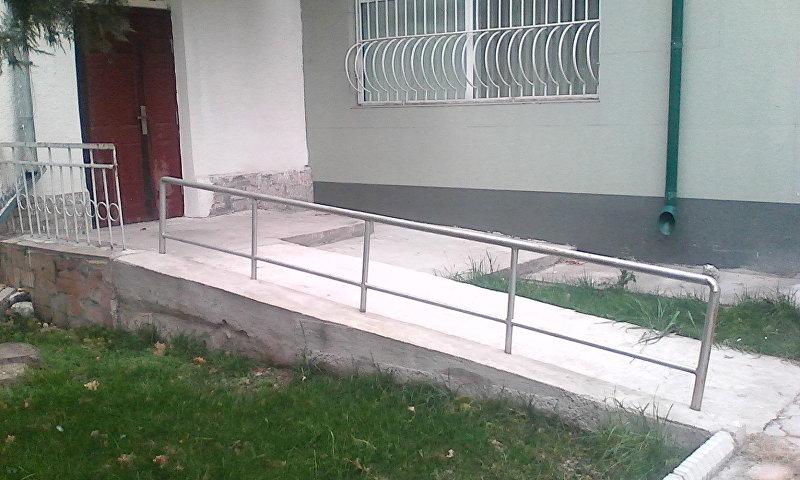 Специальный пандус для инвалидов колясочников