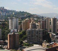 Один из районов Каракаса, Венесуэла. Архивное фото