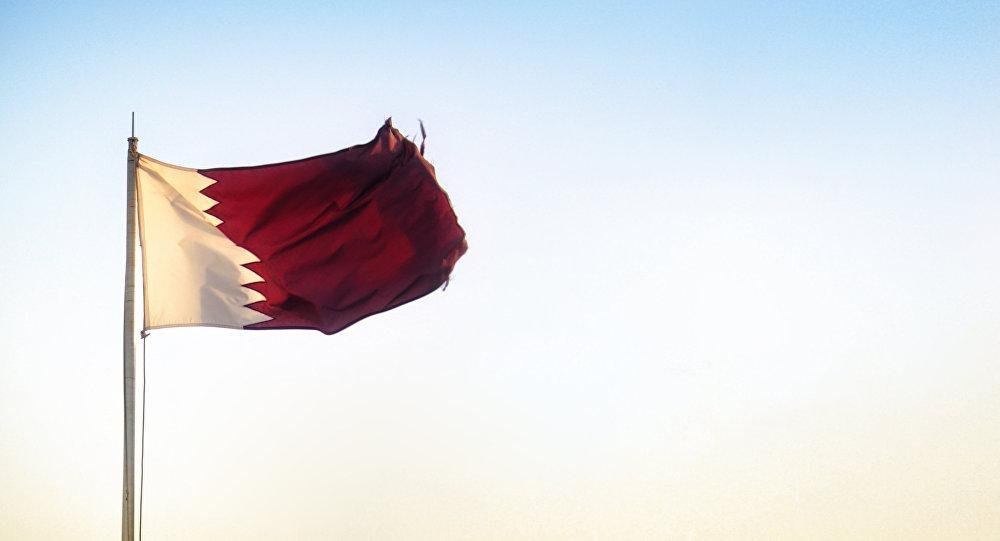 Катар мамлекетинин желеги. Архив