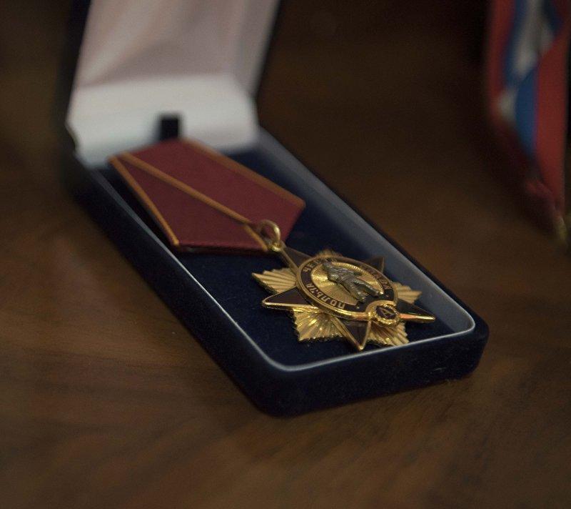 Орден бывшего снайпера Альфы Владимира Березовец