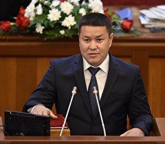 Председатель депутатской комиссии Талант Мамытов. Архивное фото