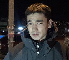 Болот Ибрагимов после суда обратился к сотрудникам ДПС с предупреждением