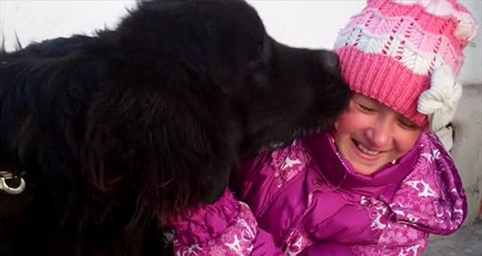 Как живет щенок — подарок Путина девочке из Балыкчи?