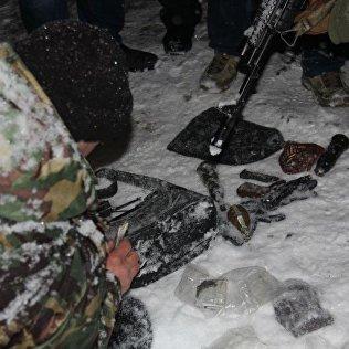 Оружия и боеприпасы найденные на месте происшествия