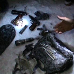 Кадры с места ликвидации двух террористов в Бишкеке