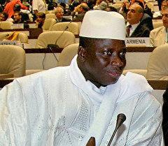 Президент Гамбии Яйя Джамме. Архивное фото