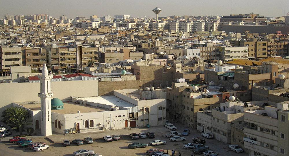 Вид города Эр-Рияд - столицы Саудовской Аравии. Архивное фото