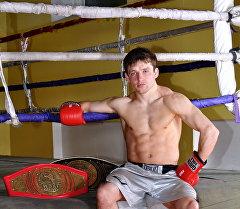 Чемпион мира по кикбоксингу Алексей Федосеев. Архивное фото