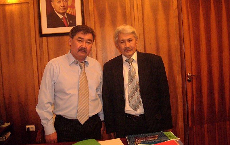 Медет Садыркулов с Турсунбек Акуном