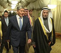Атамбаев: араб бир туугандар Кыргызстанга келип кетсе, абдан ыраазы бо