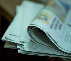 Газета. Архивдик сүрөт