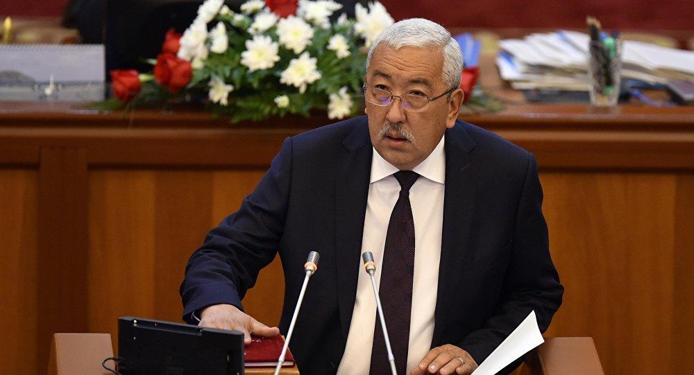 Депутат ЖК 6 созыва Исхак Масалиев от партии Кыргызстан. Архивное фото