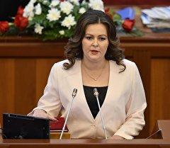 Депутат Наталья Никитенко. Архив