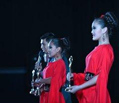 Церемония закрытия фестиваля Кыргызстан — страна короткометражных фильмов