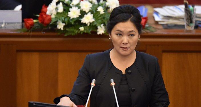 Депутат Жылдыз Мусабекова
