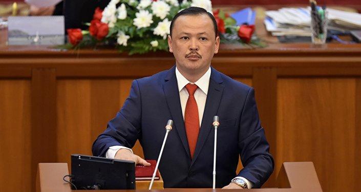 КСДП фракциясынын депутаты Улан Примовдун архивдик сүрөтү
