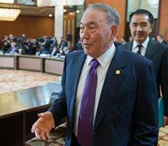 Казахстандын президенти Нурсултан Назарбаев. Архив