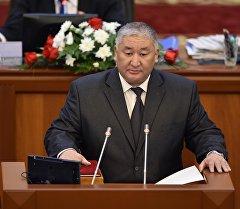 Депутат Максат Сабиров. Архив