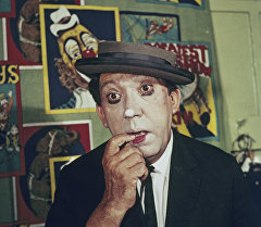 Артист цирка Юрий Никулин. Архивное фото