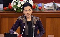 ЖК депутаты Аида Салянованын архивдик сүрөтү