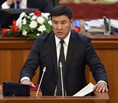 КСДП фракциясынан 6-чакырылыштагы депутаты Кыянбек Сатыбалдиев