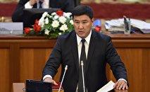 Полномочный представитель правительства в Джалал-Абадской области Кыянбек Сатыбалдиев. Архивное фото