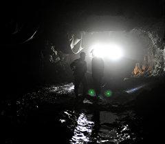 Көмүр шахтасы. Архивдик сүрөт