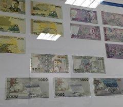 Улуттук валютанын эскизи. Архив